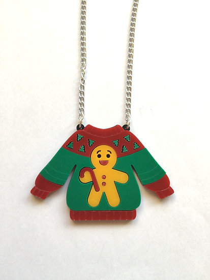 Christmas Jumper Necklace