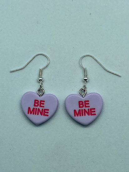 LOVE HEART SWEETS EARRINGS