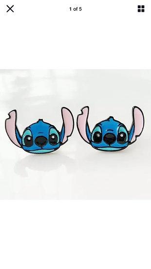Stitch inspired studs