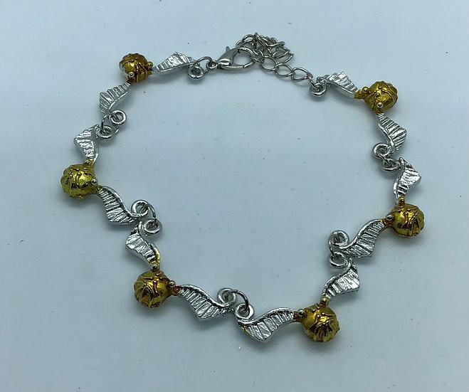 Golden Snitch Inspired Bracelet