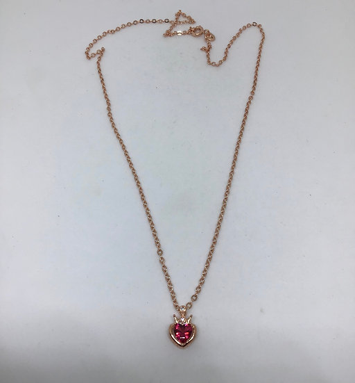 Crown Heart necklace