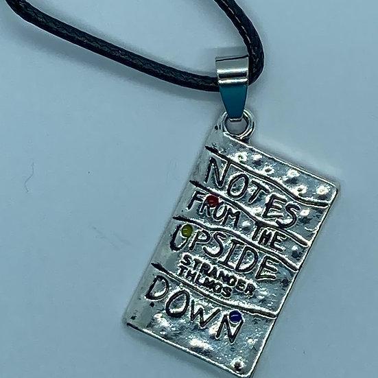 Stranger Things inspired necklace