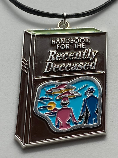 Handbook for the Recently Deceased Necklace