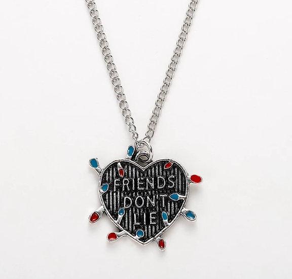"""""""Friends Don't Lie"""" Necklace"""