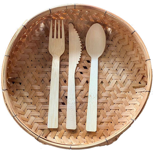 BAMBOO CUTLERY 20sets