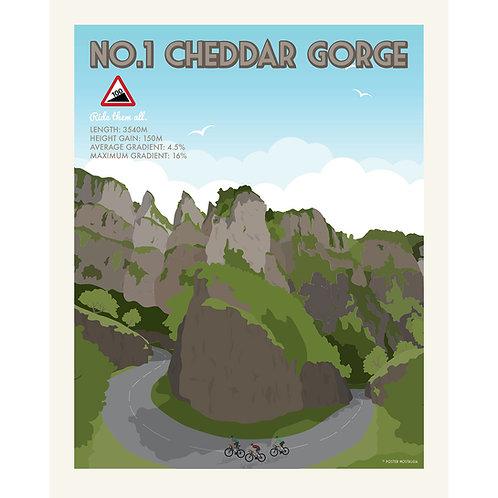 Cheddar Gorge print.