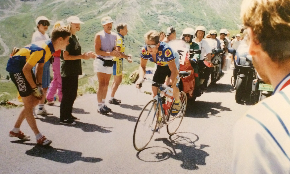 Lemond on The Galibier in 1992