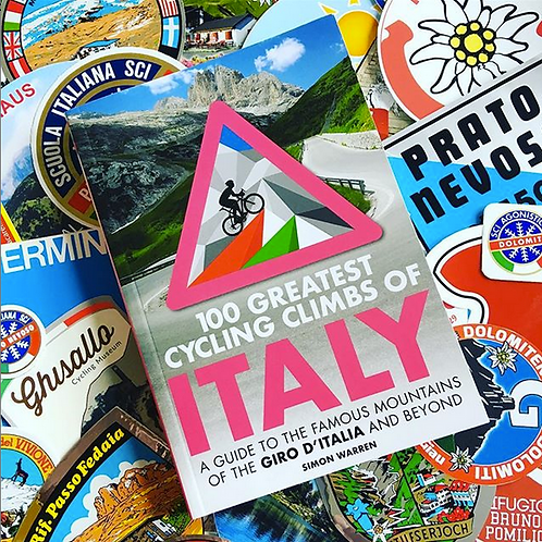 100 Greatest Cycling Climbs of ITALY. Signed Copy.