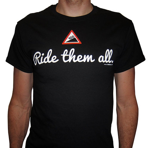 100 Climbs T-Shirt  (no more medium)