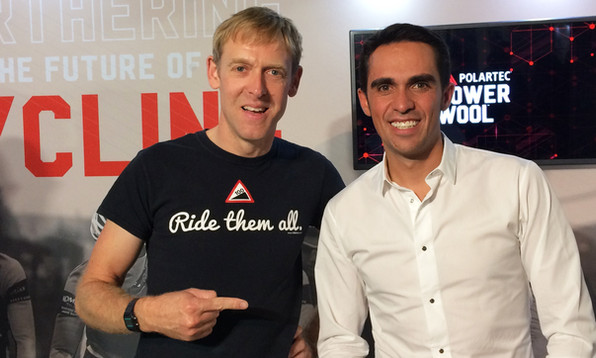 Meeting my cycling heroes