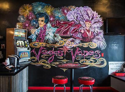 Vegas Vapes Mural