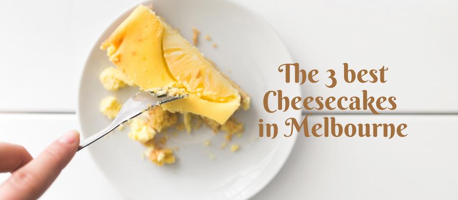 メルボルンおすすめのチーズケーキ紹介