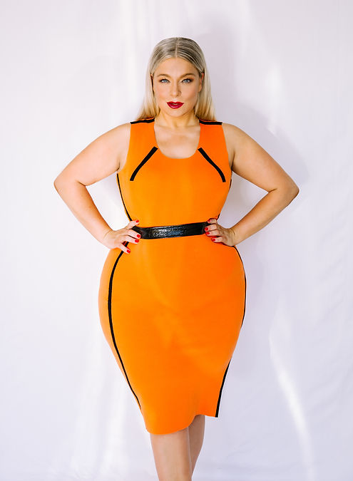 Caterina Pogorzelski Plus Size Model Stylistin