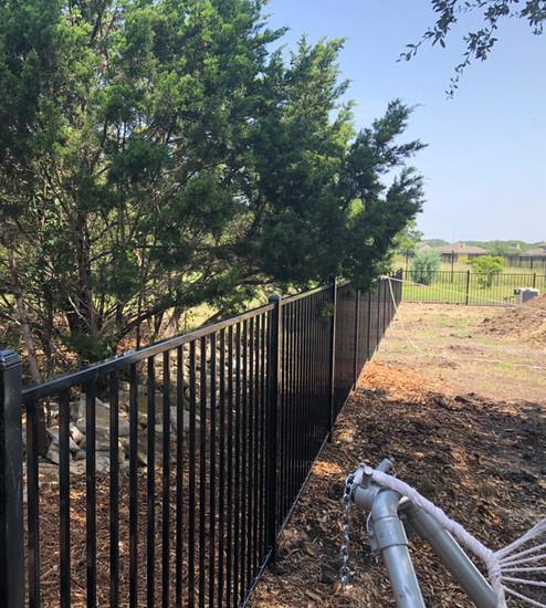 new wrought iron fence installation austin tx