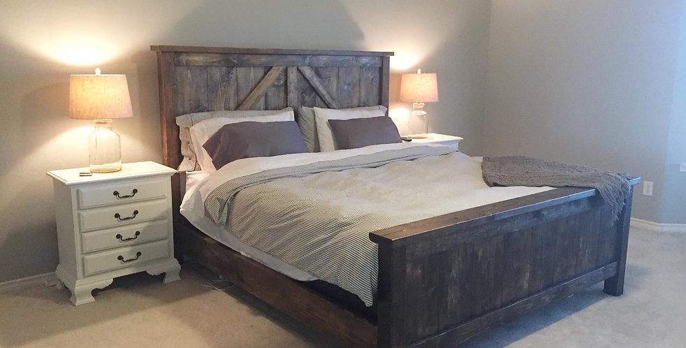 Classic Farmhouse Bed