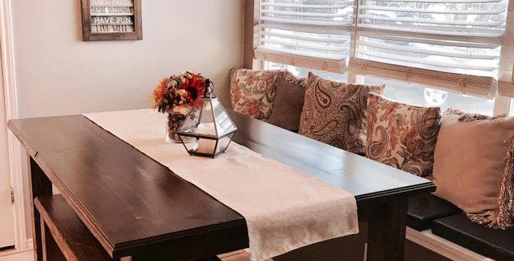 Counter Height Farm House Table