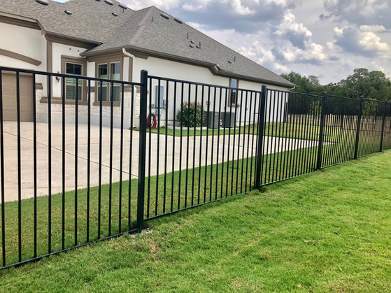 Wrought iron fence installation austin texas