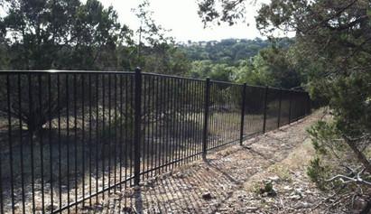 wrought iron fence austin tx