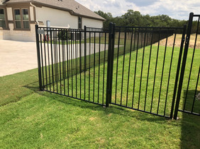 Custom iron fence austin tx