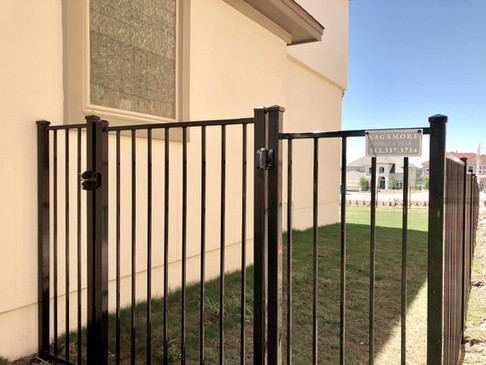 custom sagamore iron fence and gate installation austin tx