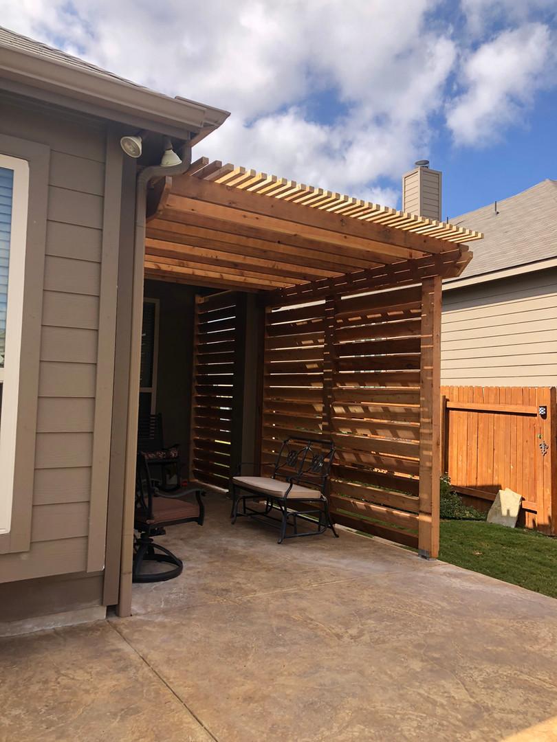 backyard patio wood pergola austin tx.JP