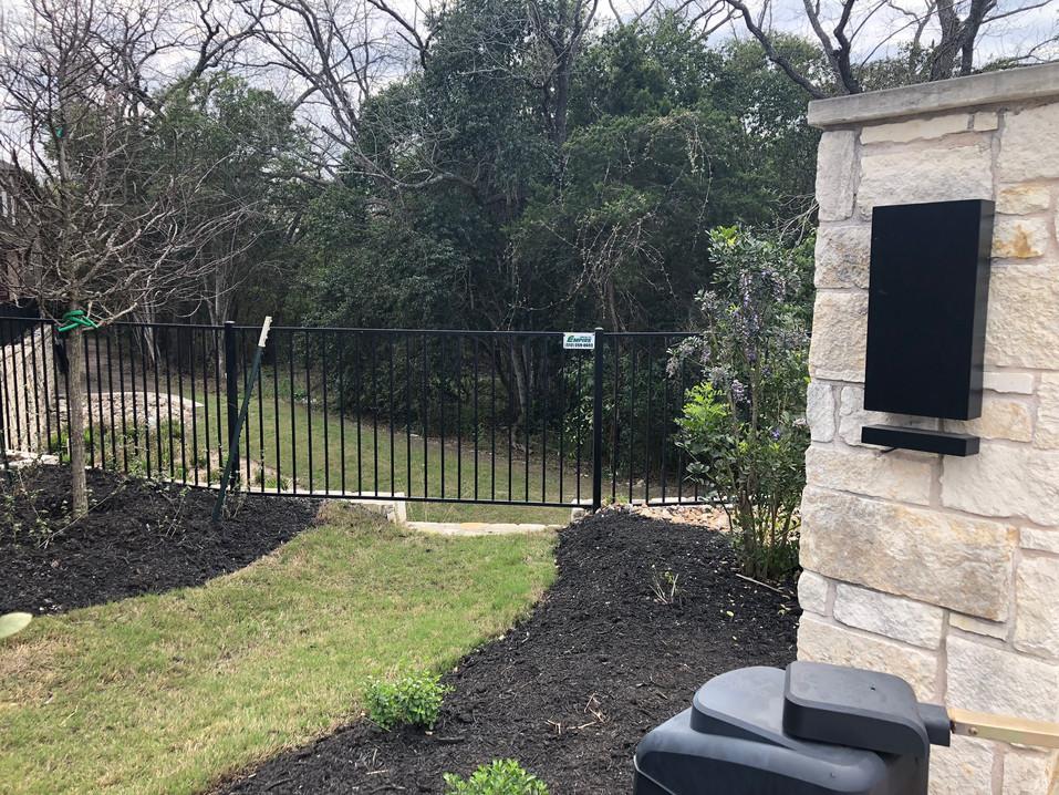 custom iron fence installation austin