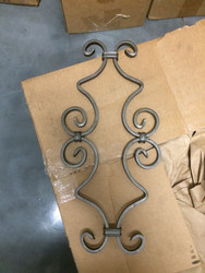 custom ornamental iron design for fence