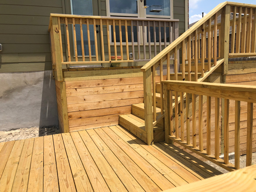 custom wood deck and stairs austin tx.JP