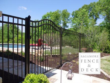 custom wrought iron gate designs