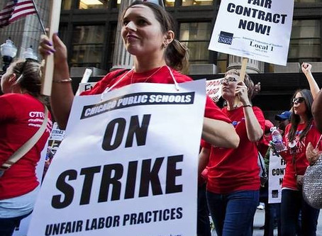 Chicago Teachers Fight for Their Needs in an 11 Day Walk-out
