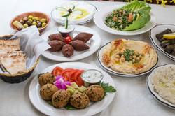 Lebanese Appetizer Spread