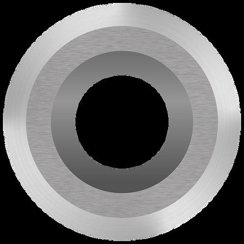 Ci0 NR Negative Rake Carbide Cutter - Round, Pat. No. D902967
