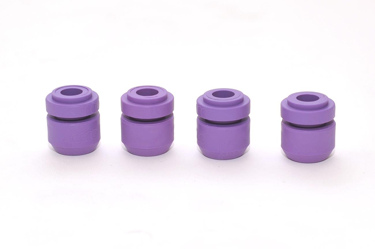 Suspensiones goma violeta