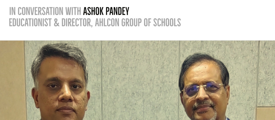 Developing School Leaders - Ashok Pandey