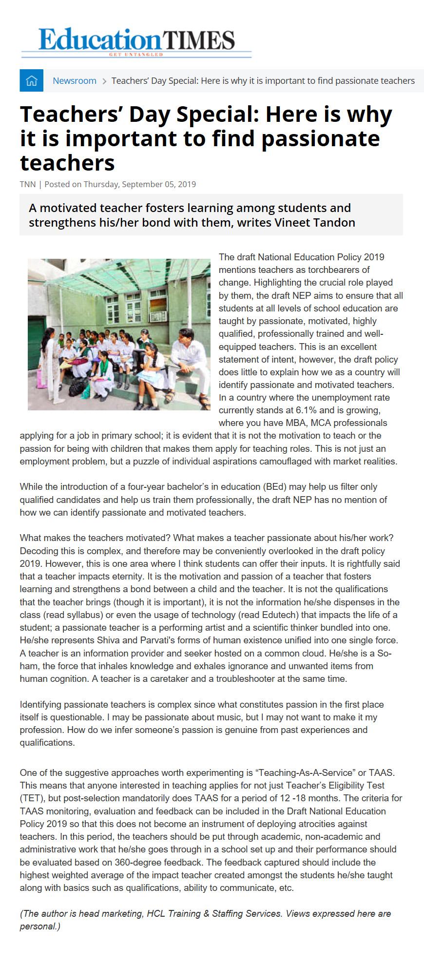 Education Times Online Version Sept 5, 2