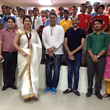Musical Motivational Session at International School, Greater Noida