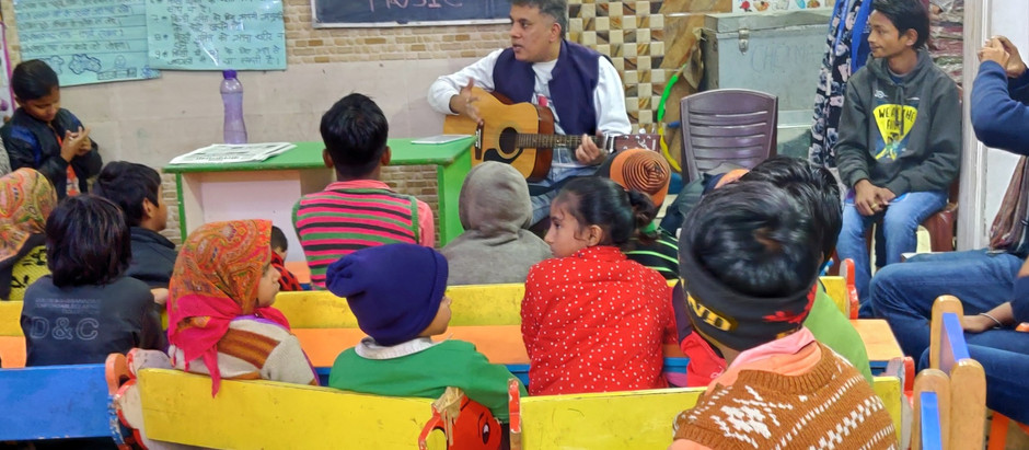 EMPOWERING STREET CONNECTED CHILDREN WITH MUSIC