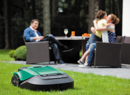 Robotic Mowing: The Convenience Factor
