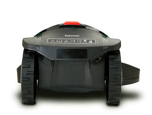 TurfBot robotic mower back view