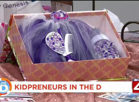 Kidpreneurs feature their products in Detroit event