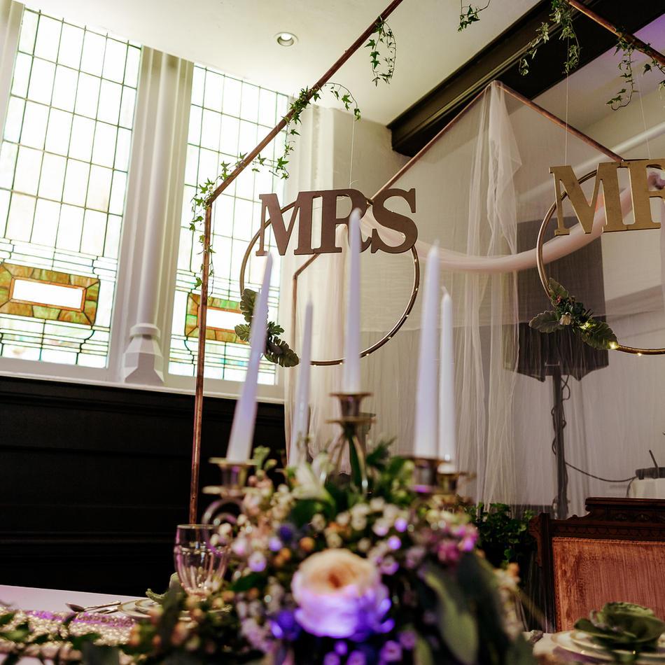 """Mr."" & ""Mrs."" letters"