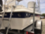 Boat Cleaning after transom Ponce