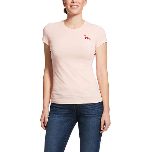 Ariat  Embroidered Fox Tee
