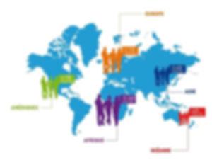 école CNED internationnal 2017/2018 marrakech Répartition des inscrits dans le monde