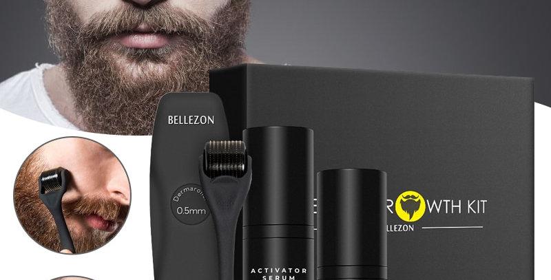 4 Pcs Beard Growth Kit