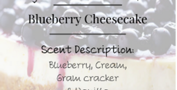 Blueberry Cheesecake Candle