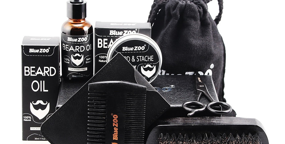 7pc Beard Kit