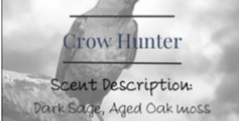 Crow Hunter Candle