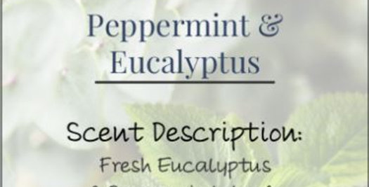 Peppermint+Eucalyptus Candle