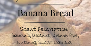 Banana Bread Candle